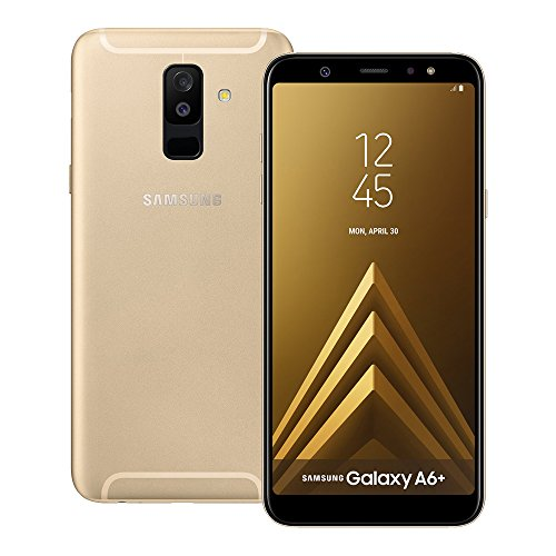 Samsung Galaxy A6+ (A605G) GSM Unlocked 6' sAMOLED Infinity Display with Live Focus Dual Camera Smartphone - Gold