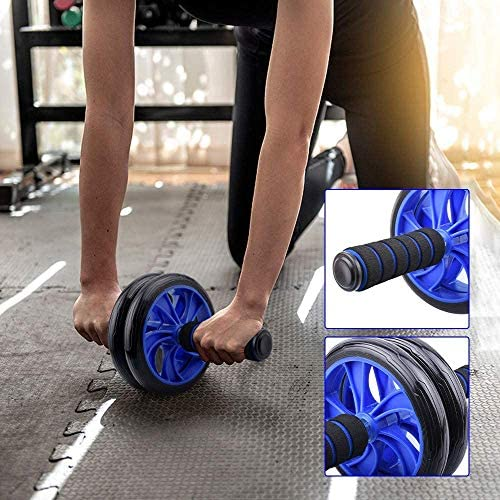 EPROSMIN Ab Wheel Workout Gear Ab Roller - 3 in 1 Fitness Equipment Set Ab Roller Resistance Bands Jump Rope Pull Rope - Ab Exercise Equipment Used as at Home Workout Equipment for Both Men & Women 6