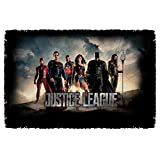 Justice League Movie Time for Heroes Woven Throw Blanket Tapestry
