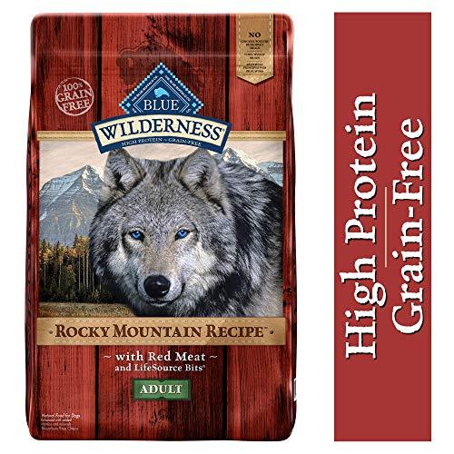 Blue Buffalo Wilderness Rocky Mountain Recipe High Protein Grain Free, Natural...