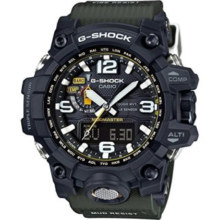 Casio G-Shock Mudmaster Black-Tone Dial Resin Quartz Men's Watch GWG1000-1A3