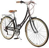 Retrospec Beaumont-7 Seven Speed Lady's Urban City Commuter Bike