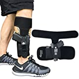 Concealed Carrier (TM) Ankle Holster for Concealed Carry Pistol   Universal Leg Carry Gun Holster with Magazine Pouch for Glock 42, 43, 36, 26, S&W Bodyguard .380.38, Ruger LCP, LC9, Sig Sauer