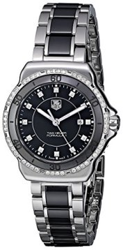 "TAG Heuer Women's WAH1312.BA0867 ""Formula 1"" Stainless Steel Two-Tone Watch with Diamonds"