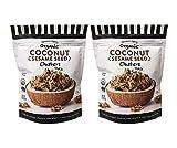 Trader Joe's Organic Coconut Sesame Seed Clusters Snack 2oz (2 Pack)