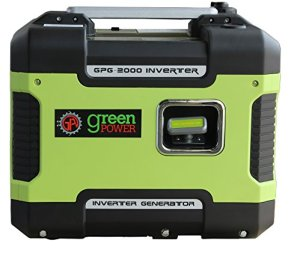 Green-Power America GPG2000i 2000W Inverter Generator, Green/Black