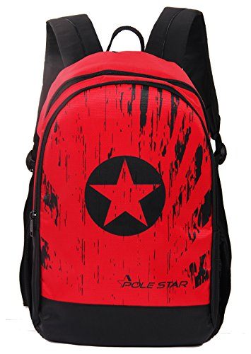 51SgdqnQkcL - POLE STAR Polestar Amaze 30 LTR Red Black Casual/Travel Backpack with Laptop Compartment