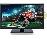 Naxa NTD2256 22' Class LED TV/DVD/Media Player/Car Package