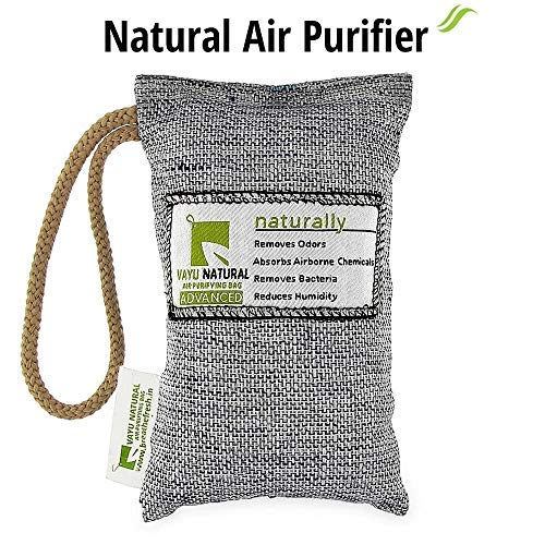 BreatheFresh Vayu Natural Air Purifying Bag, 100% Activated Charcoal. Odour, Allergens and Pollutants Remover 1  BreatheFresh Vayu Natural Air Purifying Bag, 100% Activated Charcoal. Odour, Allergens and Pollutants Remover 51ShLVz7MxL