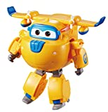 Super Wings - Transforming Donnie Toy Figure, Plane, Bot, 5' Scale