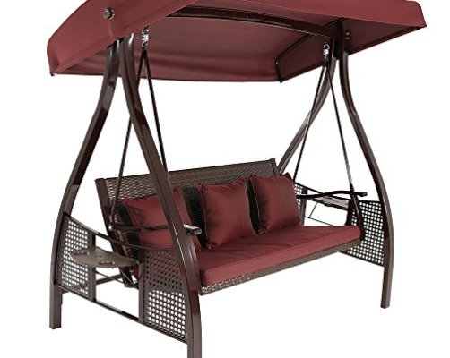 Top 10 Best Garden Swings For Adults With Canopy - Best of ...