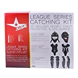 All-Star Youth League Series Catchers Gear Sets Ages 9-12 Black