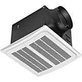 Hampton Bay 7136-01 140 CFM Ceiling Humidity Sensing Bathroom Exhaust Fan