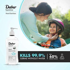 DABUR  Hand Sanitizer |60% Alcohol Based Sanitizer  – 500 ml