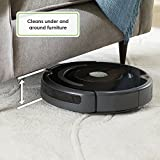 iRobot Roomba 671 Robot Vacuum with Wi-Fi Connectivity, Works with Alexa, Good for Pet Hair, Carpets, and Hard Floors, Clear