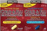Kirkland Signature Serve Cold & Flu Multi-Symptom, Daytime Serve 2X60 Caplets, Nighttime Serve 48 Caplets