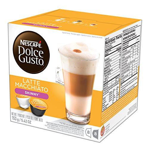 Nescafe - Dolce Gusto - Latte Macchiato Coffee Pods 8 Drinks - 194.4g (Case of 3)