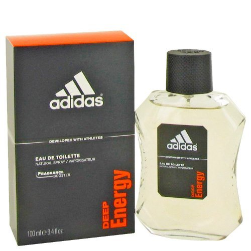 Adidas Deep Energy by Adidas For Men. Eau De Toilette Spray 3.4-Ounces