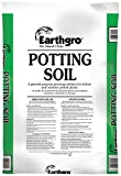 Earthgro 72451180 Potting Soil Bag, 1-Cubic-Foot