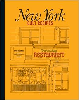 New York Cult Recipes Book