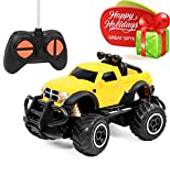Click N' Play CNP1043 Remote Control Car, Mini Pickup Truck, Rock Crawler Radio Control Vehicle,