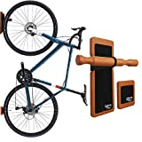 TREAD CO. Bike Wall Mount Multi-Functional Vertical Bike Hanger Save Space & Mount Your Bicycle On Your Walls in Your Shed and Garage