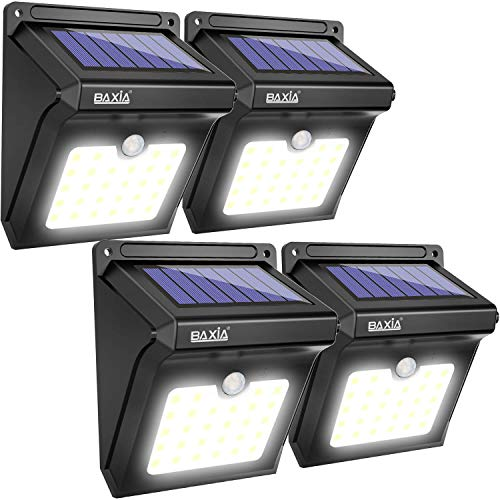 Baxia Technology Solar Lights Outdoor Wireless 28 Led