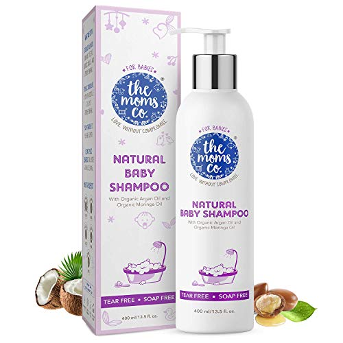 51T2ahW4kBL The Mothers Co. Tear-Free Pure Child Shampoo with USDA-Licensed Natural Argan and Moringa Seed Oils (400ml)