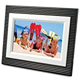 ViewSonic Premium Décor DPX702BSL-BW 7-Inch Digital Picture Frame