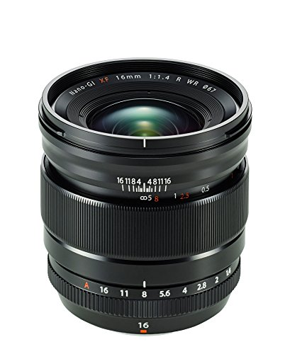 Fujinon XF16mmF1.4 R WR with Lens Hood / UV Filter