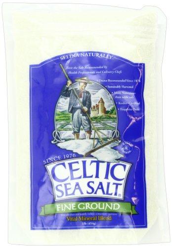 Celtic Sea Salt, Fine Ground, 16 Ounce