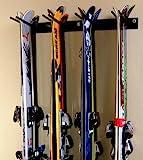 Rough Rack 4-8 Ski & Snowboard Ski Rack