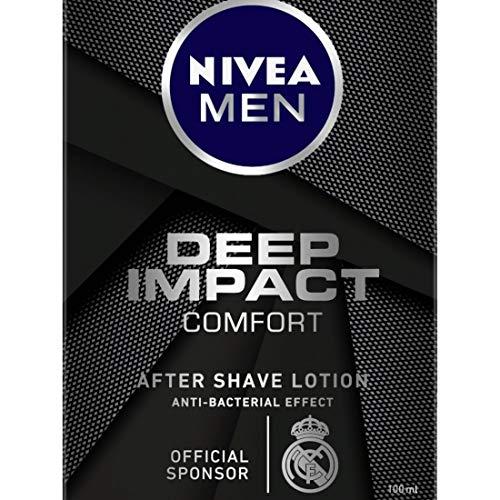NIVEA MEN Shaving Deep Impact Comfort After Shave Lotion Review 100ml 25