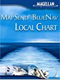 Magellan MapSend BlueNav Local Chart Great Exuma Island/Long Island Salt/Freshwater Map micrroSD Card