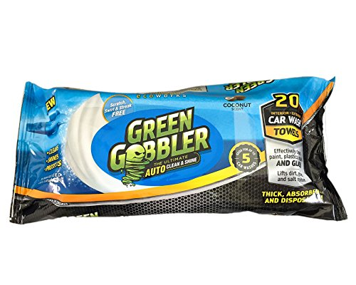 1. Green Gobbler Clean and Shine Auto Towels