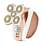 Women's Waterproof Painless Hair Remover for Leg Face Lips Body Underarms Armpit - Cordless Bikini Trimmer - Lady Razor Epilator - Female Electric Rechargeable Shaver - As Seen On TV