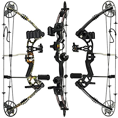 RAPTOR Compound Hunting Bow Kit: LIMBS MADE IN USA...