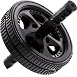PharMeDoc Ab Roller Wheel - Ab Workout Equipment for Core Exercise, Athletes, and Home Gym - Dual Abs Wheel Roller