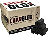 CHARBLOX Ultra Premium Hardwood Grilling Charcoal Logs - Lasts 5 Hours, Eco-Friendly, 100% Natural, No Chemicals, No Sparks (11LB)
