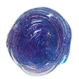 Gbell Mixing Fluffy Floam Slime Charms Stuff Scented Stress Relief No Borax Jumbo Putty Slime Supplies for Kids and Adults 100 ML (B)