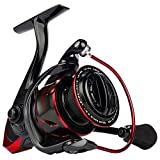 KastKing Sharky III Fishing Reel - NEW 2019 Spinning Reel - Carbon Fiber 39.5 LBs Max Drag - 10+1 Stainless BB for Saltwater or Freshwater - Oversize Shaft - Super Value!