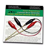 Make Colloidal Silver Generator Machine Economy Combo Kit Includes .9999 Percent Pure 10-Gauge Wire