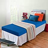 Zinus Memory Foam 5 Inch Bunk Bed/Trundle Bed/Day Bed/Mattress, Twin, Blue