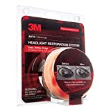 3M Headlight Restoration System, Sand, Refine, and Polish to Restore Cloudy and Dull Headlights, Drill Application, 1 Kit