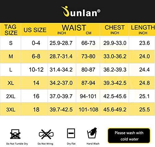 Junlan Sauna Suit for Women Sweat Workout Tank Tops Heat Trapping Vest Slimming Polymer Sauna Vest 7