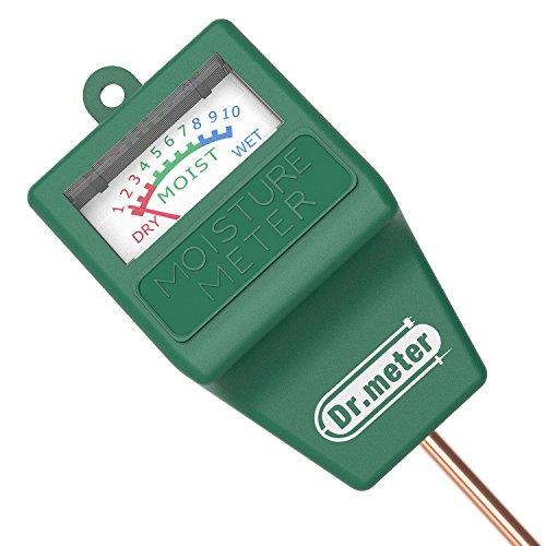 [Soil Moisture Meter] Dr.meter Hygrometer Moisture Sensor for Garden, Farm, Lawn Plants Indoor & Outdoor(No Battery needed), S10