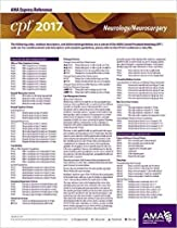 CPT 2017 Express Reference Coding Card: Neurology / Neurosurgery (CPT 2017 Express Reference Coding Cards)