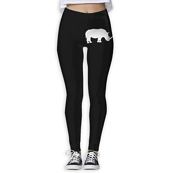 Best J Cute Rhino Womens Full Length Pilates Leggings Workout Running Sports Pants Amazon Es Ropa Y Accesorios