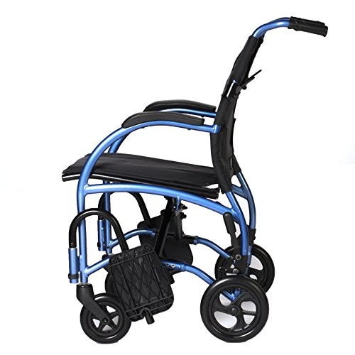 STRONGBACK Mobility- Lightweight Excursion 8 Wheelchair- Small 16' Seat,16', 8' Rear Wheels
