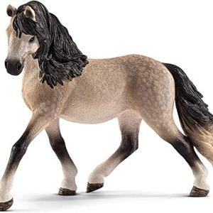 SCHLEICH Horse Club, Animal Figurine, Horse Toys for Girls and Boys 5-12 Years Old, Andalusian Mare